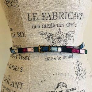 Cute colorful H&M belt
